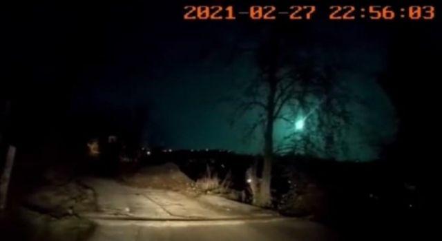 Meteor Doğu Karadeniz Bölgesi'nden de Görüntülendi
