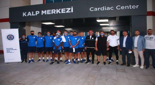 Çaykur Rizespor'da yeni sezon öncesi futbolcular sağlık kontrolünden geçti
