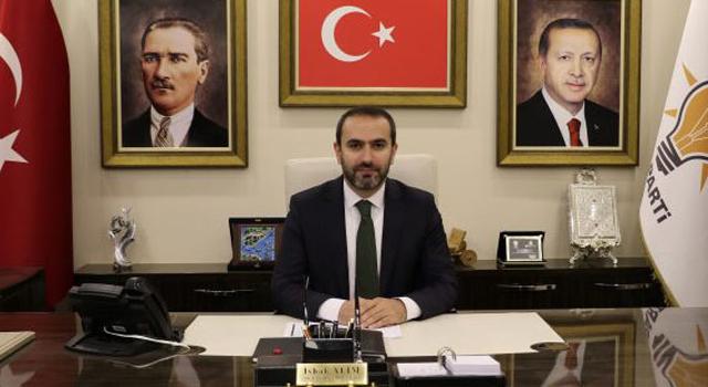 AK Parti Rize İl Başkanı Alim'den 30 Ağustos Zafer Bayramı Mesajı