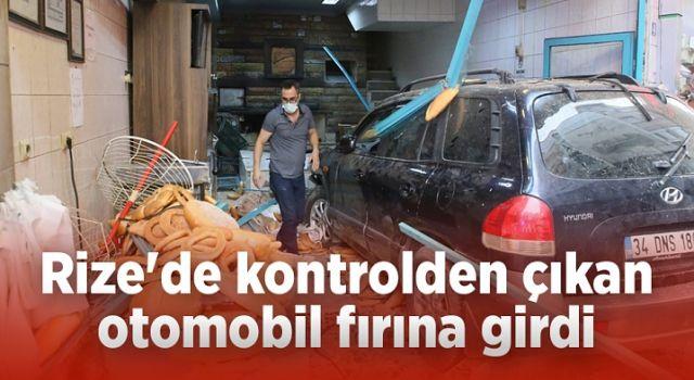 Rize'deki Kazada Atmadığı Adımla Ölümden Döndü