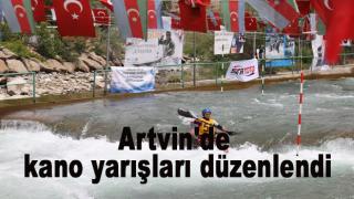 Artvin'de Kano Yarışları Düzenlendi