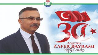 Rize Valisi Çeber'den 30 Ağustos Zafer Bayramı Mesajı