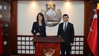 Büyükelçi Kwaasteniet, Rize Vali Vekili Sarı'yı Ziyaret Etti