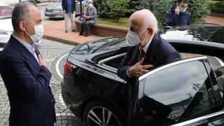 TBMM Eski Başkanı Kahraman'dan Rize Belediye Başkanı Metin'e Ziyaret