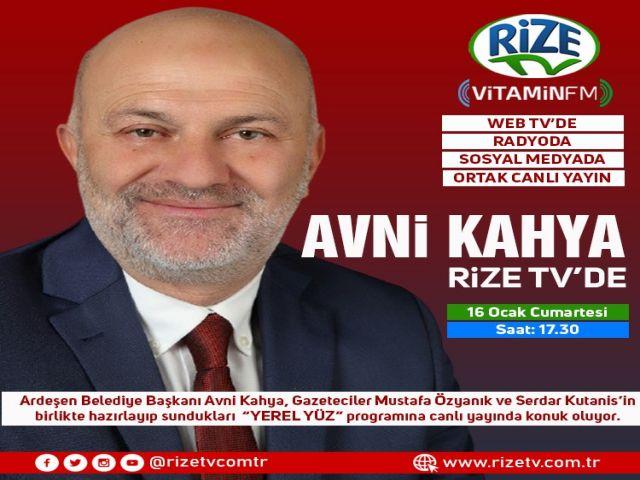 Yerel Yüz - Ardeşen Belediye Başkanı Avni Kahya